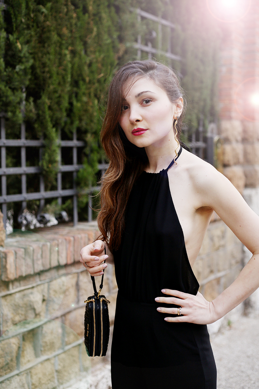 Brandymelville Black Jumpsuit Veronica Fashion Blogger Roma