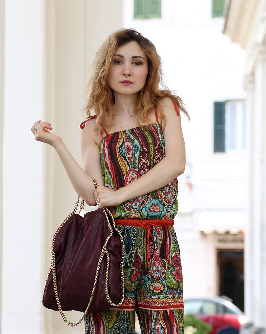 Jumpsuit Desigual Un Salto Negli Anni 70 Veronica Fashion