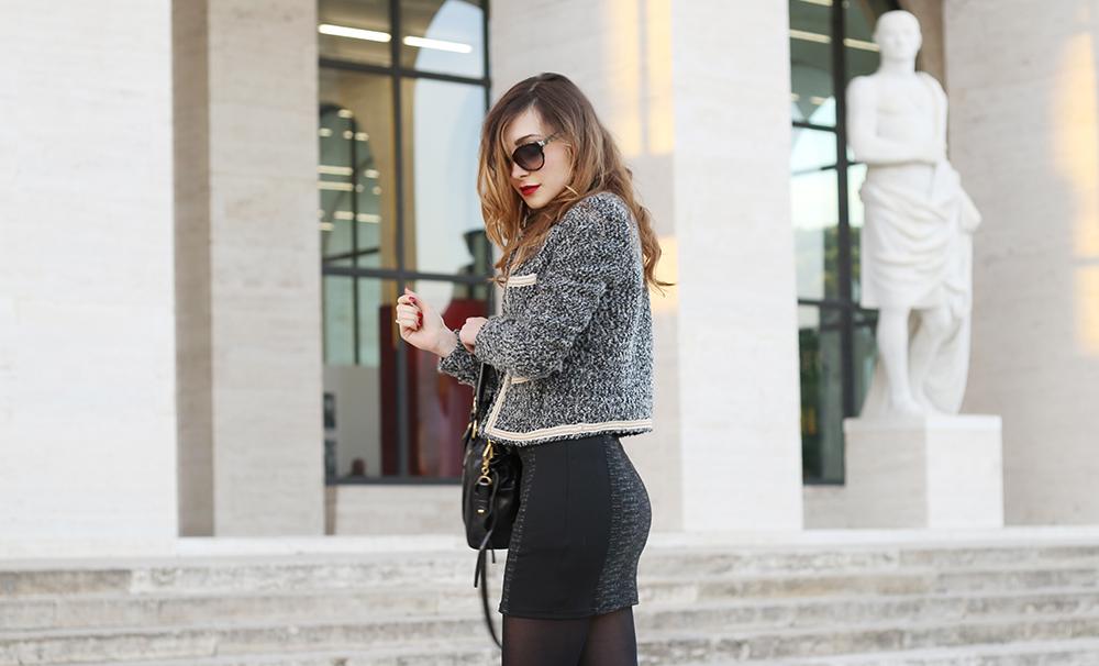 Look Da Ufficio : Look da ufficio con un mini dress veronica fashion ger roma