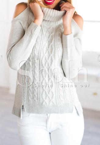 maglione spalle scoperte