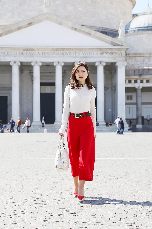 313f1662d5a38 outfit anni  50 con pantaloni culotte – Veronica