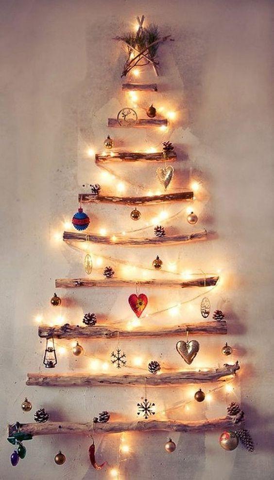 albero di Natale casa piccola