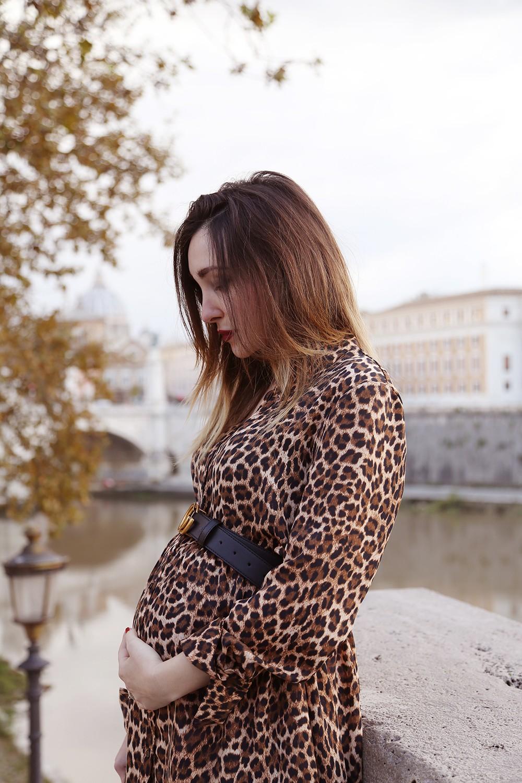 look autunnale gravidanza
